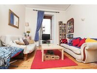 Fantastic 2 bed traditional flat on Easter Road with hardwood flooring available June - NO FEES!