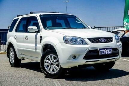 2010 Ford Escape ZD White 4 Speed Automatic Wagon Wangara Wanneroo Area Preview