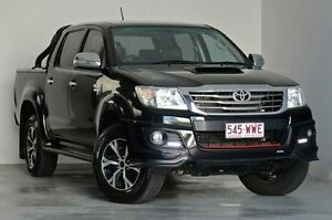 2014 Toyota Hilux KUN26R MY14 Black Double Cab Limited Edition Black 5 Speed Automatic Utility Kedron Brisbane North East Preview