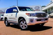 2014 Toyota Landcruiser VDJ200R MY13 Sahara Crystal Pearl 6 Speed Sports Automatic Wagon Balcatta Stirling Area Preview