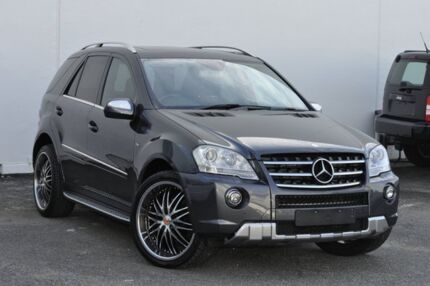 2009 Mercedes-Benz ML350 CDI W164 MY10 BlueEFFICIENCY Grey 7 Speed Sports Automatic Wagon Tweed Heads South Tweed Heads Area Preview