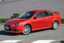 2015 Mitsubishi Lancer CJ MY15 XLS Red 6 Speed Constant Variable Sedan Main Beach Gold Coast City Preview
