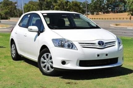 2010 Toyota Corolla  Glacier White Automatic Hatchback Cranbourne Casey Area Preview