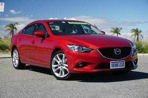 2013 Mazda 6 GJ1031 GT SKYACTIV-Drive Red 6 Speed Sports Automatic Sedan Wangara Wanneroo Area Preview