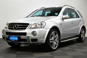 2008 Mercedes-Benz ML63 W164 MY08 Silver 7 Speed Sports Automatic Wagon