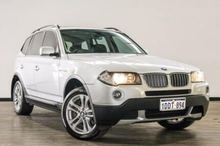 2008 BMW X3 E83 MY07 si Steptronic Silver 6 Speed Sports Automatic Wagon Myaree Melville Area Preview