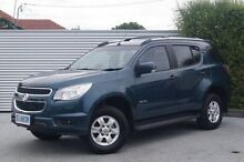 2013 Holden Colorado 7 RG MY13 LT Green 6 Speed Sports Automatic Wagon South Launceston Launceston Area Preview