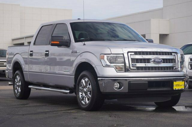 Owner 2014 Ford F-150 XLT 26702 Miles Silver Crew Cab Pickup Twin Turbo Regular Unlead
