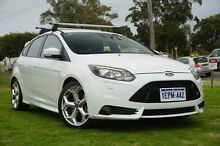 2014 Ford Focus LZ ST White 6 Speed Manual Hatchback Wangara Wanneroo Area Preview