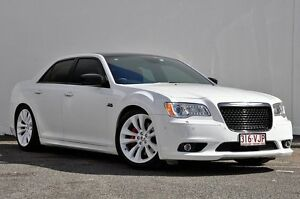 2014 Chrysler 300 LX MY14 SRT-8 Core Satin Vapour White 5 Speed Sports Automatic Sedan Tweed Heads South Tweed Heads Area Preview