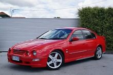 2000 Ford Falcon AU II XR8 Red 5 Speed Manual Sedan South Launceston Launceston Area Preview