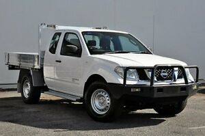 2011 Nissan Navara D40 RX White 5 Speed Automatic Utility Tweed Heads South Tweed Heads Area Preview