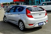 2017 Hyundai Accent RB5 Sport Silver 6 Speed Automatic Hatchback Wangara Wanneroo Area Preview