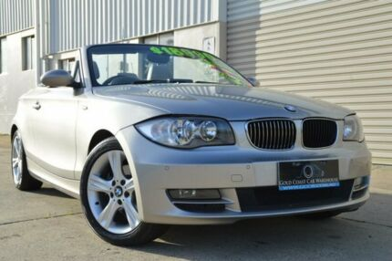 2008 BMW 125I E88 Silver 6 Speed Automatic Convertible Ashmore Gold Coast City Preview