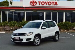 2014 Volkswagen Tiguan 5N MY14 118TSI 2WD White 6 Speed Manual Wagon Highland Park Gold Coast City Preview