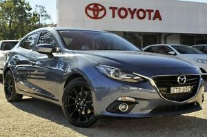 2014 Mazda 3 BM5238 SP25 SKYACTIV-Drive GT Blue 6 Speed Sports Automatic Sedan Lisarow Gosford Area Preview