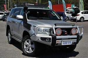 2014 Toyota Landcruiser VDJ200R MY13 Altitude Silver 6 Speed Sports Automatic Wagon Myaree Melville Area Preview