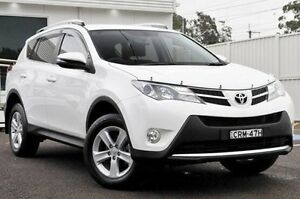 2014 Toyota RAV4 ZSA42R MY14 GXL 2WD White 7 Speed Constant Variable Wagon Gosford Gosford Area Preview