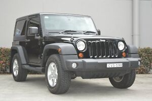 2013 Jeep Wrangler JK MY13 Sport (4x4) Black 6 Speed Manual Softtop South Maitland Maitland Area Preview