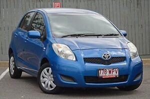 2010 Toyota Yaris NCP90R MY10 YR Blue 5 Speed Manual Hatchback Kedron Brisbane North East Preview