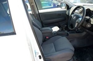 2013 Toyota Hilux KUN26R SR White 4 Speed Automatic Utility Ebbw Vale Ipswich City Preview