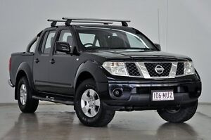 2010 Nissan Navara D40 MY10 ST-X Black/Grey 6 Speed Manual Utility Tweed Heads South Tweed Heads Area Preview