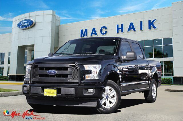 2017 Ford F-150 XL 58416 Miles Black Crew Cab Pickup Twin Turbo Regular Unleaded