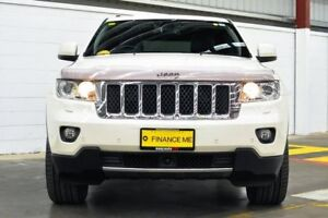 2012 Jeep Grand Cherokee WK MY2013 Overland White 6 Speed Sports Automatic Wagon