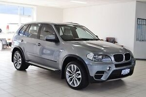 2012 BMW X5 E70 MY12 Upgrade xDrive 30D Silver 8 Speed Sequential Auto Wagon Morley Bayswater Area Preview