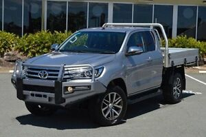 2015 Toyota Hilux Silver Manual Utility Highland Park Gold Coast City Preview