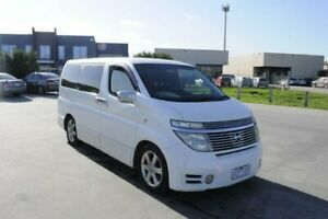 2004 Nissan Elgrand HIGHWAYSTAR E51 White Automatic Hoppers Crossing Wyndham Area Preview
