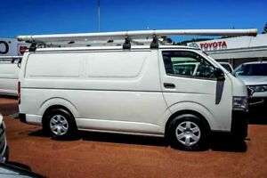 2012 Toyota Hiace KDH201R MY12 LWB White 5 Speed Manual Van