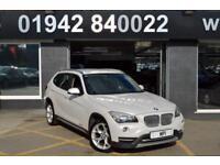 2012 62 BMW X1 2.0 XDRIVE 20D XLINE 5D 181 BHP 5 DR 6 SP 4WD DIESEL ESTATE,WHITE