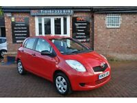 TOYOTA YARIS 1.0 T2 VVT-I 5d 69 BHP COMES WITH 12 MONTH MOT (red) 2008