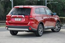 2015 Mitsubishi Outlander ZK MY16 LS 4WD Red 6 Speed Constant Variable Wagon Helensvale Gold Coast North Preview