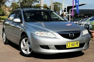 2005 Mazda 6 GG1032 Classic Silver 6 Speed Manual Hatchback North Gosford Gosford Area Preview