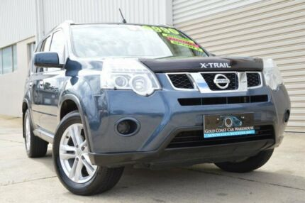 2012 Nissan X-Trail T31 Series V ST Blue 1 Speed Constant Variable Wagon