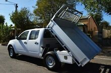 2013 Nissan Navara D40 S7 MY12 RX 4x2 White 5 Speed Automatic Utility Thorngate Prospect Area Preview