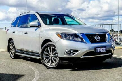 2015 Nissan Pathfinder R52 MY15 ST-L (4x2) Silver Continuous Variable Wagon Wangara Wanneroo Area Preview