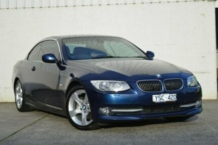 2011 BMW 325I E93 MY11 Steptronic Blue 6 Speed Auto Seq Sportshift Convertible Hallam Casey Area Preview