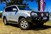 2012 Toyota Landcruiser Prado KDJ150R GXL Silver 5 Speed Sports Automatic Wagon Wangara Wanneroo Area Preview