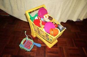 Kitchen and shopping toys Geebung Brisbane North East Preview