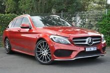 2015 Mercedes-Benz C250  Red Sports Automatic Wagon Doncaster Manningham Area Preview
