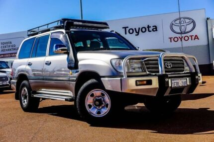 2004 Toyota Landcruiser HDJ100R GXL Gold 5 Speed Automatic Wagon Balcatta Stirling Area Preview