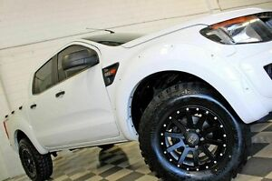 2011 Ford Ranger PX XL 2.2 HI-Rider (4x2) White 6 Speed Automatic Crew Cab P/Up Burleigh Heads Gold Coast South Preview