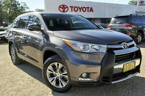 2014 Toyota Kluger GSU55R GXL AWD Grey 6 Speed Sports Automatic Wagon Lisarow Gosford Area Preview