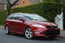 2013 Ford Mondeo MC Titanium PwrShift TDCi Red 6 Speed Sports Automatic Dual Clutch Wagon Thorngate Prospect Area Preview
