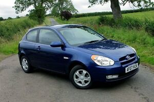 2006 Hyundai Accent MC 1.6 Blue 4 Speed Automatic Hatchback Medindie Walkerville Area Preview