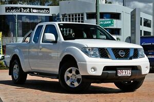 2013 Nissan Navara D40 S6 MY12 ST-X King Cab White 5 Speed Automatic Utility Southport Gold Coast City Preview