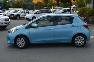 2015 Toyota Yaris Blue Automatic Hatchback Highland Park Gold Coast City Preview